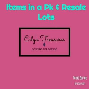 Items in a pack or case lot